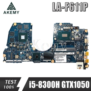 SAMXINNO CAL53 LA-F611P Laptop motherboard für For DELL G3 15-3579 3579 original mainboard i5-8300H GTX1050