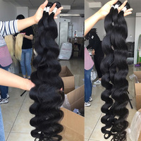 Luvin 28 30 32 40 Inch Brazilian Body Wave raw Human Hair Bundles Remy Hair water wave bundles Weaves Deals Wholesale tissage 2
