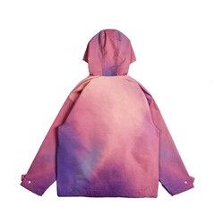 Colorful pullover jacket Hoodie Men Sweatshirt Gradient ramp Pullover Long Sleeve Hooded Sweatshirt Tops Male Tracksuits Sport