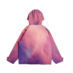 Kleurrijke trui jas Capuchon Mannen Sweater Gradient ramp Trui Lange Mouwen Hooded Sweatshirt Tops Mannelijke Trainingspakken Sport