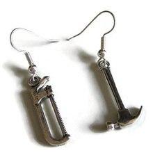 Миниатюрные серьги инструмент ювелирные изделия крошечные Искусственные