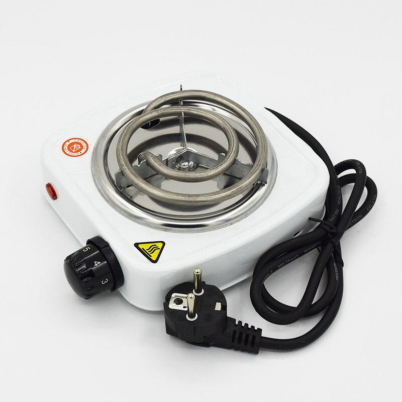 Shisha Coal Burner 500W Electric Stove Hot Plate Iron Burner Travel Portable Cooking Appliances Coffee Heater Chicha EU Plug