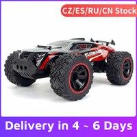 KY-2011A 2.4G 2WD RC Auto 1/14 305 millimetri Big Foot RC Crawler RC Auto Off-road Ad Alta Velocità leggero RC Auto Giocattoli per I Bambini Adulti RTR