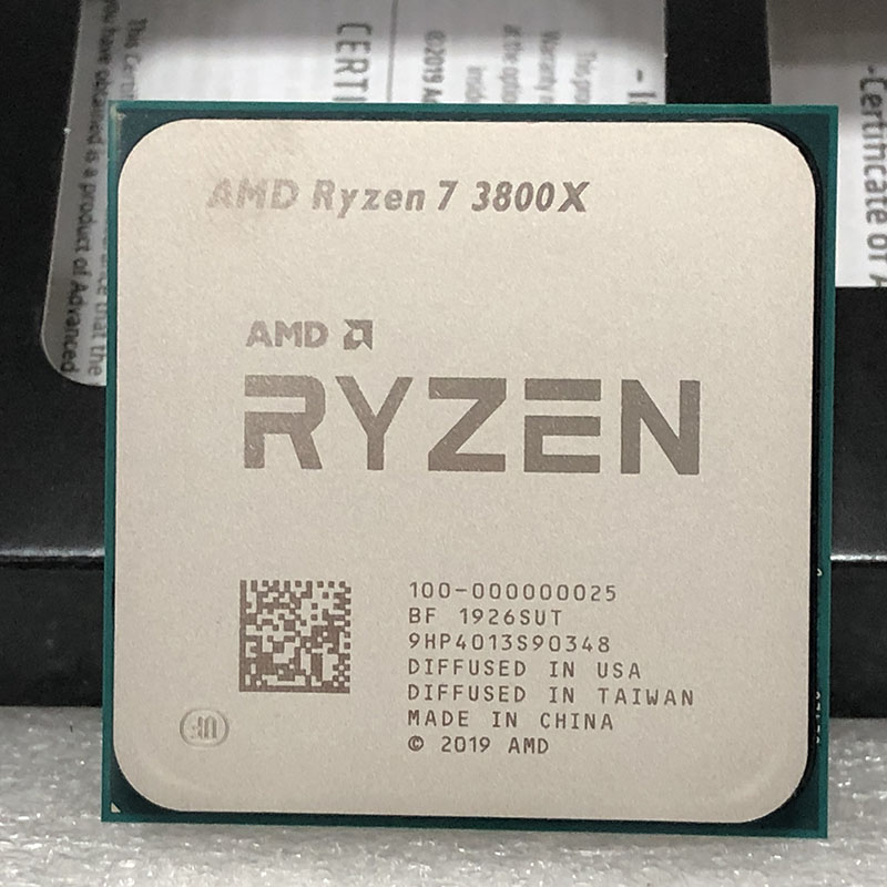Amd Ryzen 7 3800x R7 3800x 3 9 Ghz 7nm L3 32m 100 000000025 105w Eight Core Sixteen Thread Cpu Processor Socket Am4 Aliexpress
