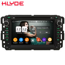 Klyde 4G Android 9 Octa Core 4GB+64GB DSP Car DVD Player Radio For Chevrolet HHR Tahoe Impala Cobalt Equinox Express Traverse(China)