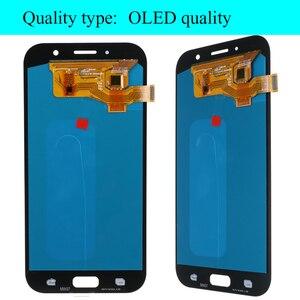 Image 5 - Оригинальный дисплей 5,7 для Samsung Galaxy A7 2017 ЖК дисплей A720M A720Y A720F A720 сенсорный экран дигитайзер в сборе запасные части