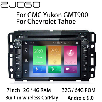 Car Multimedia Player Stereo GPS DVD Radio Navigation Android Screen for GMC Yukon for Chevrolet Tahoe GMT900 2007~2014
