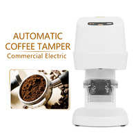 Commercial Electric Automatic Coffee Tamper White With Power Supply Stainless Steel 58MM 110V/220V/240V