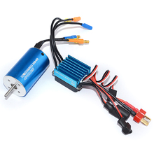 2845 4370Kv Brushless Motor + 35A Esc Program Card For 1/14 1/16 1/18 Rc Car