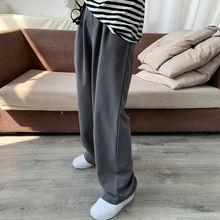 Повседневные свободные женские прямые широкие брюки 2020 Новые
