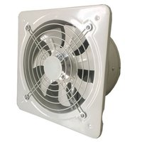 Exaustor de ventilação industrial metal axial exaustão ventilador de ar comercial baixo ruído estável running