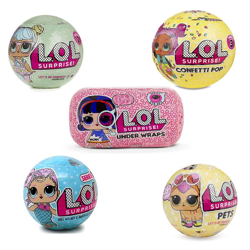 Lol Dolls Surprise No Original Box A Function Of Crying And Peeing Or Clothing Discoloration