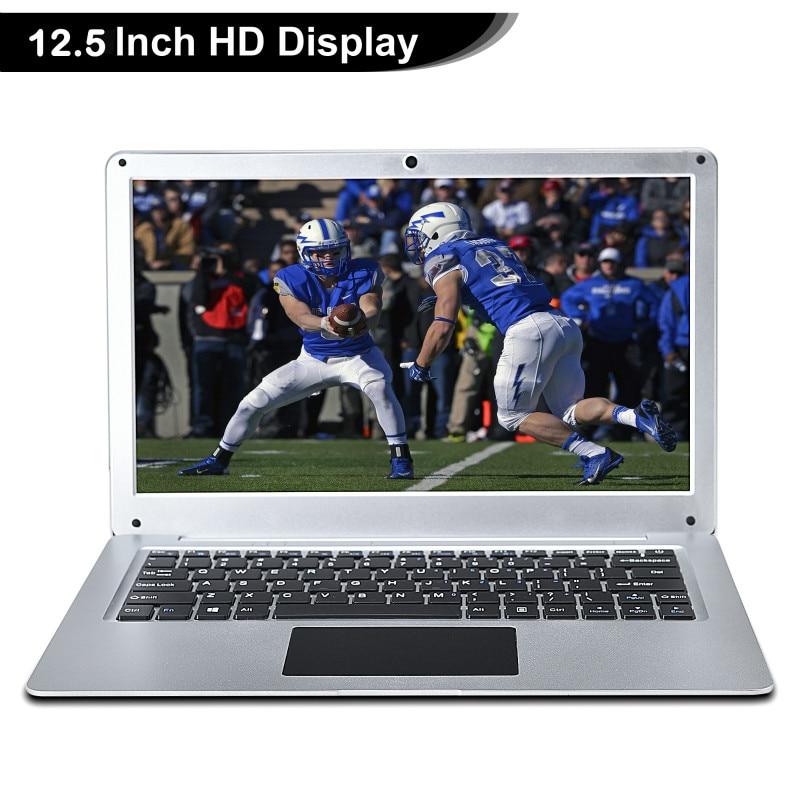2021 New N3350 12.5 Inch Slim Mini Portable Laptop 4G RAM 64G SSD Ultrabook Business Office Notebook Cool Black Netbook Computer-2