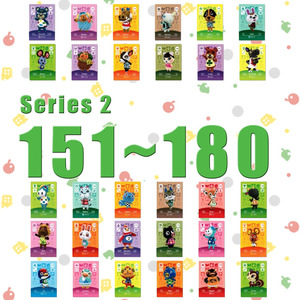 Image 1 - Animal Crossing Card Amiibo Card Work for NS Games Series 2 (151 to 180)