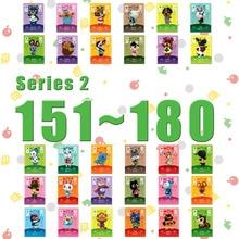Lavoro di carte per incroci di animali per NS Games Series 2 (dal 151 al 180)