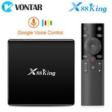 X88 rei 4gb 128g amlogic s922x caixa de tv android 9.0 duplo wifi bt5.0 1000m 4k googleplay loja youtube 4k conjunto caixa superior media player