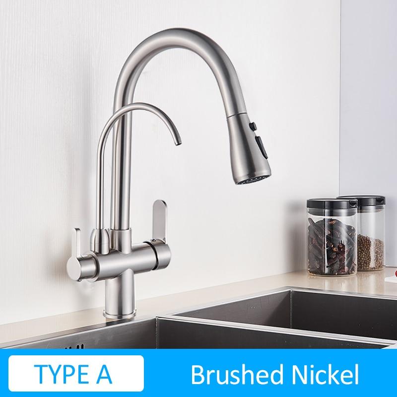 TYPE A Brush Nickel