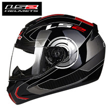 Hot Sale LS2 FF352 Motorcycle Helmet Skull Full Face Mens Racing Helmet