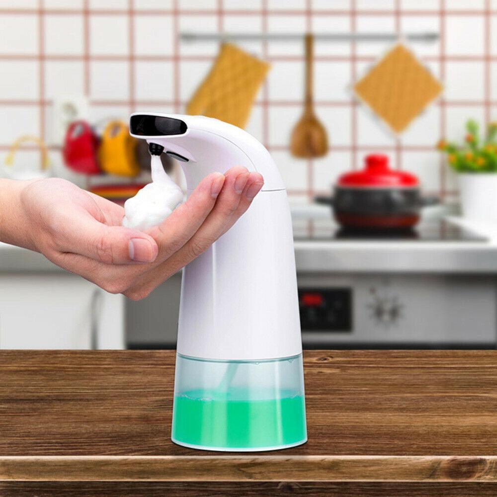 Touchless Liquid Soap Dispenser Smart Automatic Contactless Induction Foam Infrared Sensor Hand Washing Home Smart Home