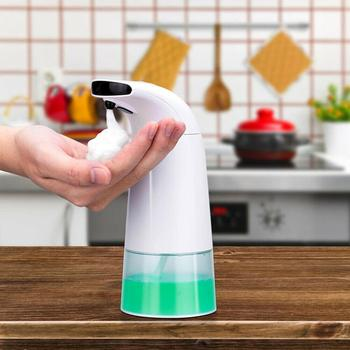 Touchless Liquid Soap Dispenser Smart Automatic Contactless Induction Foam Infrared Sensor Hand Washing Home Smart Home intelligent 250ml liquid soap dispenser automatic contactless induction foam infrared sensor hand washing device
