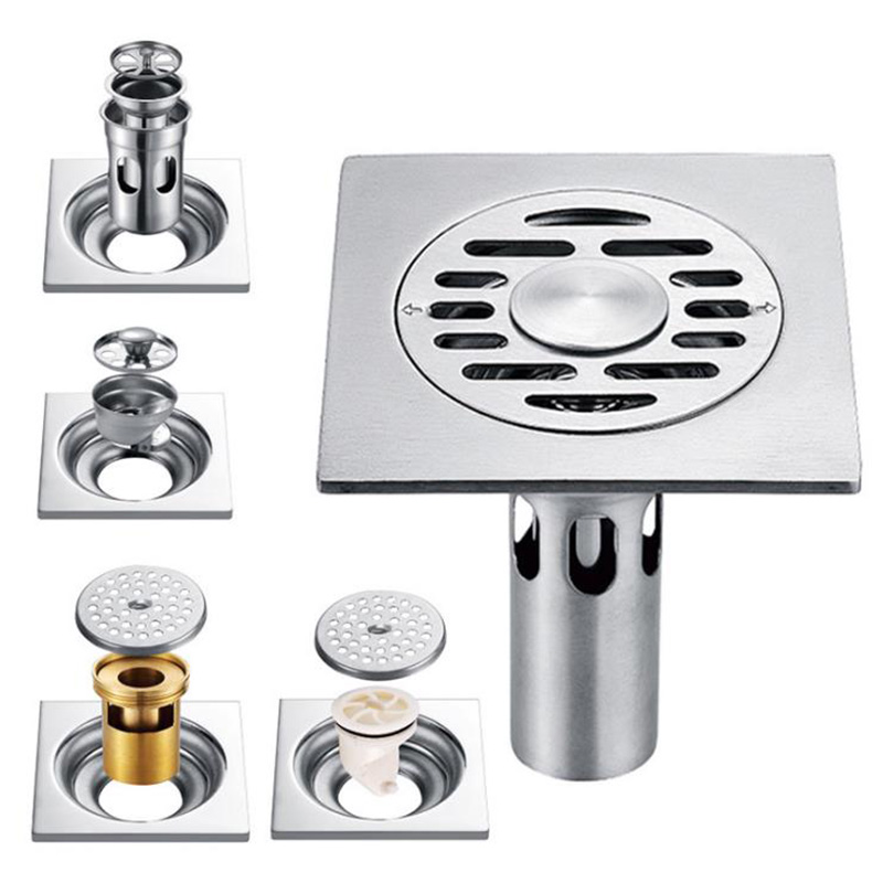 Permalink to 1PC Smell Proof Shower Floor Siphon Drain Cover Sink Strainer Bathroom Plug Trap Water Drain Filter Kitchen Sink Accessories