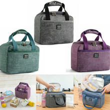 Handbag Tote Cooler Lunch-Bag Bento-Pouch Food-Storage-Bags Dinner-Container Insulated