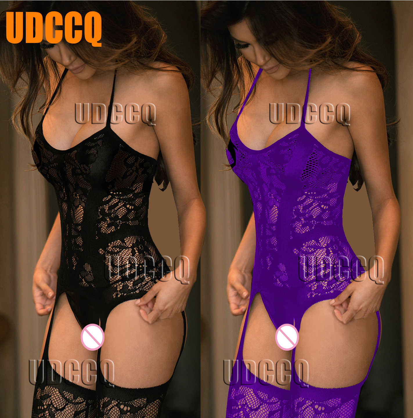 Sexy Visnet Lingerie Babydoll Baby Doll Dress Wedding Night Ondergoed Intimates Chemises Bodystocking Kostuums Negligees 9911