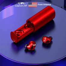 US Captain TWS Earbuds, Earphones Bluetooth 5.0, 16H, Stereo