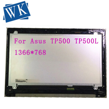 Free Shipping For Asus TP500 TP500L TP500LA Touch LCD screen assembly 15.6 inches 1366*768 40 pins