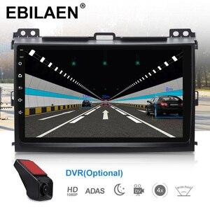 Image 4 - EBILAEN Android 9.0 Car Multimedia For Toyota Land Cruiser Prado 120 2004 2009 2Din Radio Cassette Player Navigation GPS