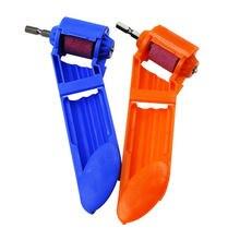 Синяя/оранжевая переносная точилка мини шлифовальный станок