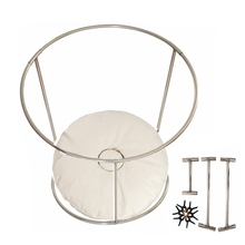 Two Size Baby Photography Prop Beanbag Frame Set,Newborn Steel Bed Baby Photo Prop,#P0723