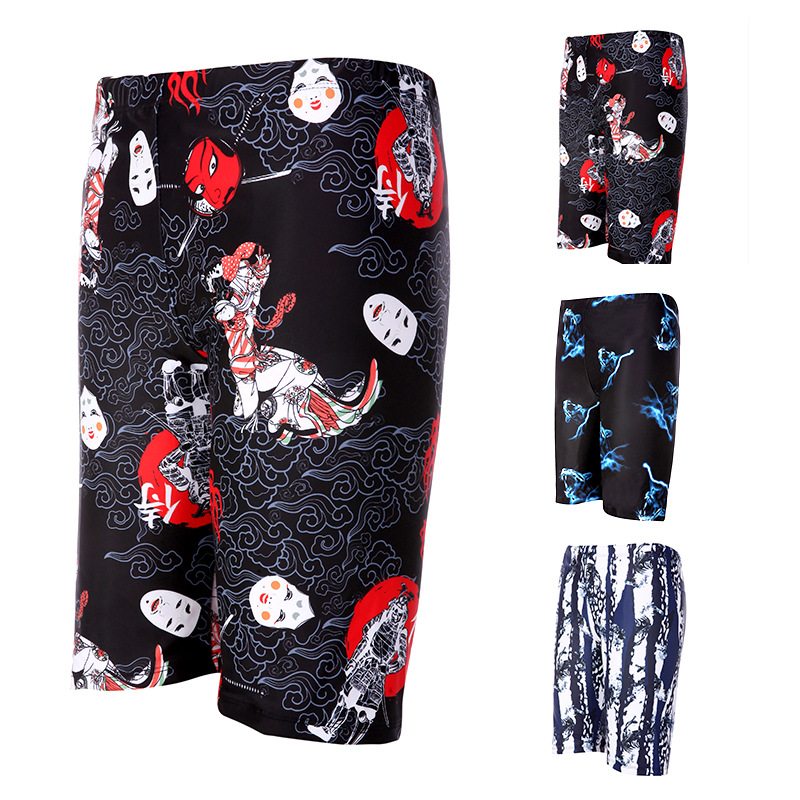 Adult Men Beach Swimming Trunks Summer New Products Short Shorts Plus-sized Seaside Surfing Casual Pants Comfortable Fabric
