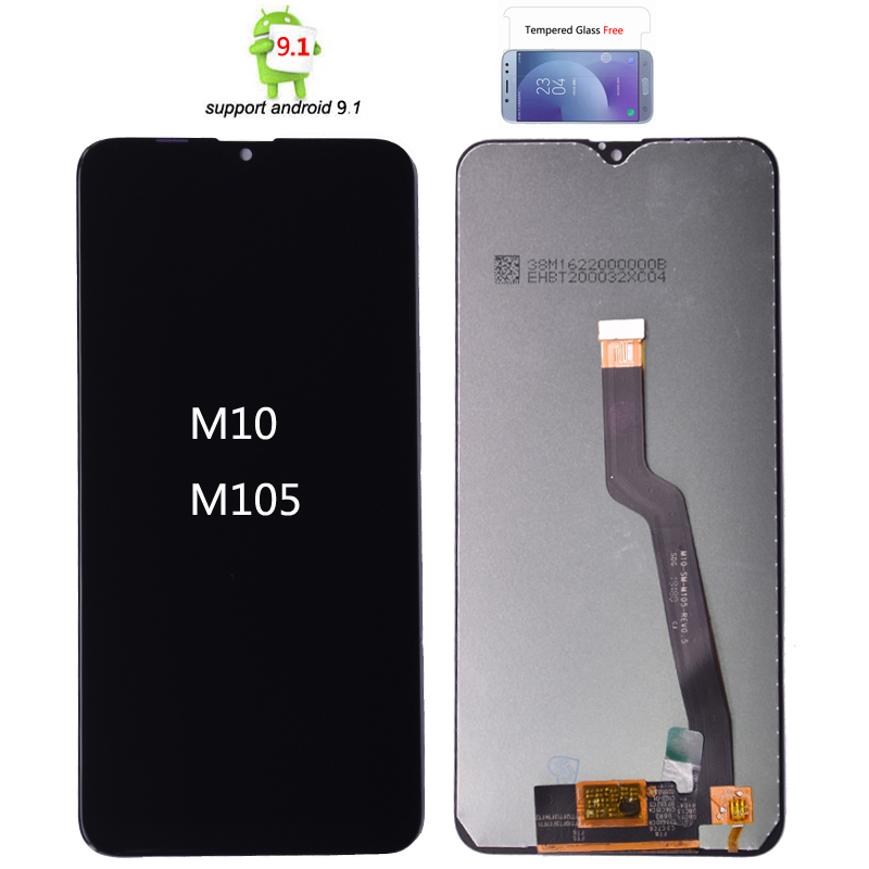ORIGINAL 6.2'' <font><b>LCD</b></font> for <font><b>SAMSUNG</b></font> Galaxy <font><b>M10</b></font> 2019 Display SM-M105 M105F M105G/DS Touch Screen Digitizer Assembly image