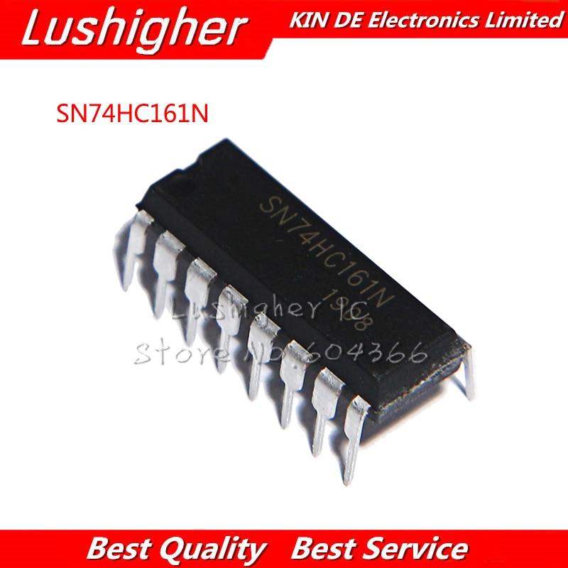 10pcs SN74HC161N DIP-16 TC74HC161AP 74HC161 DIP HD74HC161P
