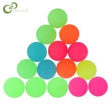 15 pçs/lote luar luminoso alto bounce brinquedo bolas crianças presente festa favor decoração crianças brilho no escuro saltando bola gyh