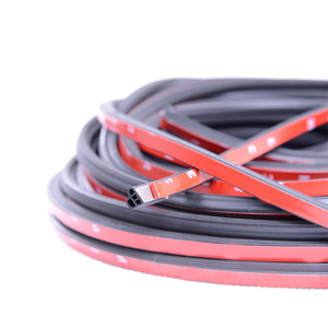 Image 3 - Joint détanchéité pour porte de voiture en caoutchouc, autocollant disolation phonique, pour garniture de coffre, de type L