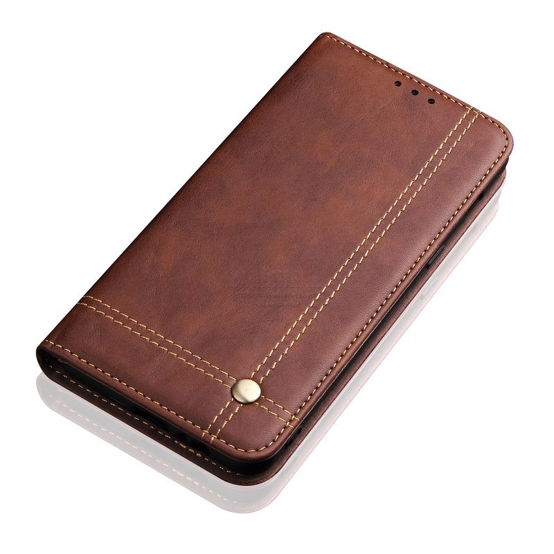 Luxury Retro Slim Leather Flip Cover For Xiaomi Redmi Note 8 8T 8 Pro Case Wallet Luxury Retro Slim Leather Flip Cover For Xiaomi Redmi Note 8 / 8T / 8 Pro Case Wallet Card Stand Magnetic Book Cover Phone Case
