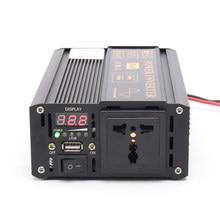 CE approve Best peak 1200W sustain full 600W inverter pure sine wave 60hz Pure sine wave solar power inverter 48V 220V with LED