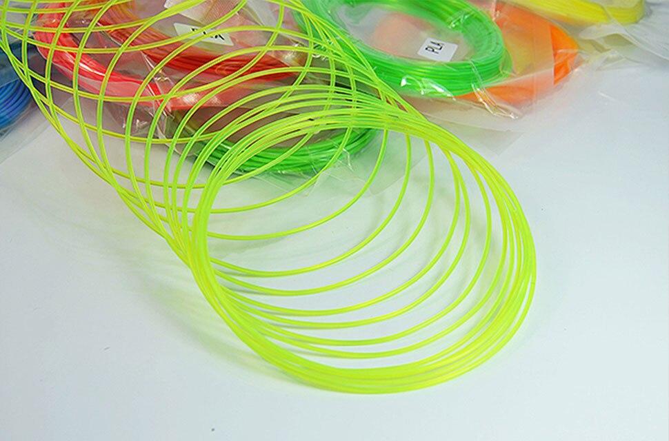 O filamento da pena de topzeal 3d