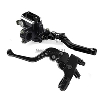 Motorcycle Clutch lever Brake for Shimano Disk Brake Radial Brake Pump Zx6R Brake Discs Ts 50 Xr150 Go Kart Suit Tmax 530 Handle