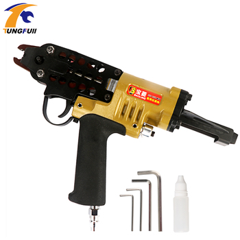 цена на C Type Gun Pneumatic C Type Nail Gun Group Cage Gun Card Nail Gun Fishing Net Gun SC7C  SC7E Nail Pneumatic Gun