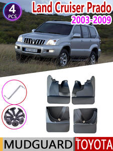 Mudflap for Toyota Land Cruiser Prado LC120 FJ120 120 2003~2009 Fender Mud Guard Splash
