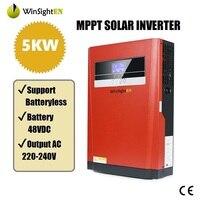 Barato https://ae01.alicdn.com/kf/Hf2eeec2a4ab749ac934c8e1d1bc228a8h/Inversor Solar 5KVA 5000W inversor Hybird de onda sinusoidal pura 220VAC incorporado MPPT 48V 80A controlador.jpg