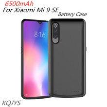 KQJYS 6500mAh עבור Xiaomi Mi 9 SE סוללה מטען מקרי נייד כוח בנק סוללה טעינת מקרה עבור Xiaomi Mi 9 SE סוללה מקרה