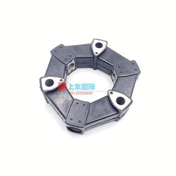 free shipping Komatsu PC30 40 50 70 Hitachi ZAX55 Hydraulic Pump Connecting Adhesive Coupling Assembly excavator parts digger