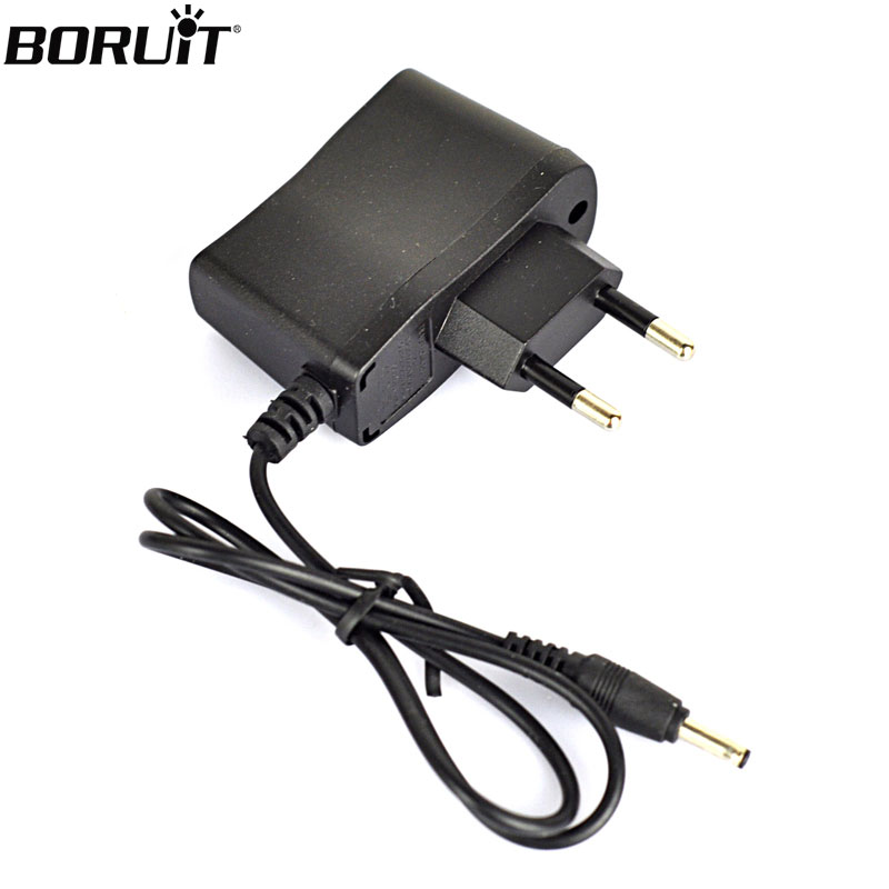 BORUIT 4.2V EU/AU/US Plug Charger Cable For LED Headlamp Headlight Flashlight Forehead Head Torch
