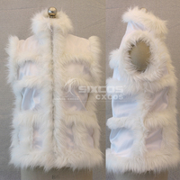 Anime DEATH NOTE Matt Cosplay Costumes Plush Fashion White Vest Unisex Halloween/Party Role Play Clothing Custom Make Any Size