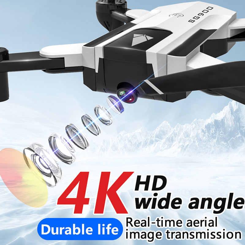 SG900 четырехосевой самолет оптического потока позиционирования жеста видео запись с 4K Разрешение фото двойная камера переменный параметр