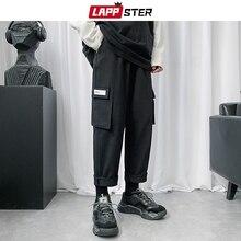 Harem-Pants Joggers Male Men Harajuku Korean-Streetwear Mens Fashion Khaki LAPPSTER Wide-Leg